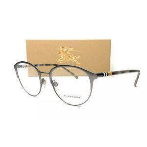 Burberry Men's Matte Gunmetal Eyeglasses!